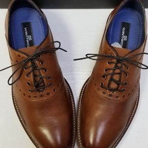 Winthrop Shoes Wingtip Suede Derby Shoe Blue Men/'s
